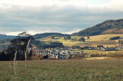 イギリスののどかな田舎町